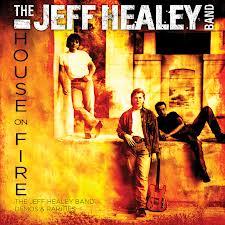 HEALEY HOUSE ON FIRE